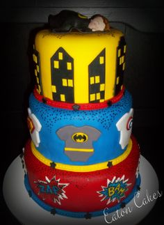 the superhero baby shower cake baby shower pinterest