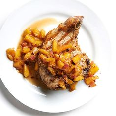 You'll love the late-summer taste with our delicious Ginger Peach Sauce: http://www.bhg.com/recipes/from-better-homes-and-gardens/august-2014-recipes/?socsrc=bhgpin082014gingerpeachsauce&page=17