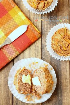 Carrot Cake Breakfast Muffins (Primal and Low Carb)