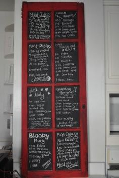 Like the look but it would list our weekly menu