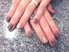 Fall Nails Im so addicted to getting pampered. This is gorrrggggg