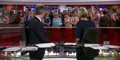 The queen photobombs BBC News (davelee_bbc via Reddit)