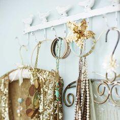Torie Jayne's Decorative hooks romant bedroom, decor hook, bedroom storage, bedroom idea, boudoir bedroom, bliss bedroom