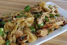 sesame chicken pasta