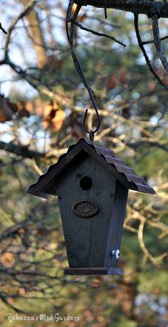 "Rustic Birdhouse ~ ""The Wren House"""