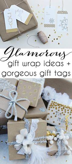 Glamorous Gift Wrap