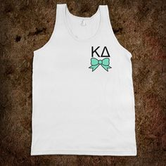 Kappa Delta - Tank - Bow