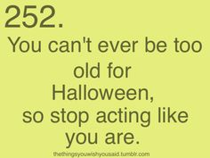 Because I always have and always will love Halloween.