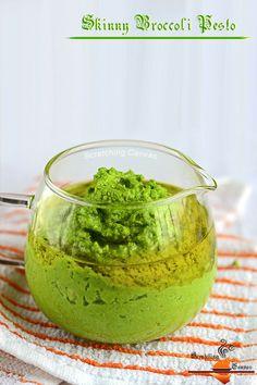 Skinny Broccoli Pesto (Vegan)