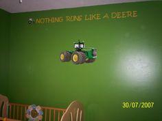 john deere bedroom | John Deere tractor bedroom, We created a John Deere bedroom for ...