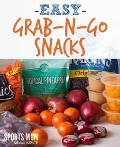 Find a list of some great snacks that your kids can get without your help!