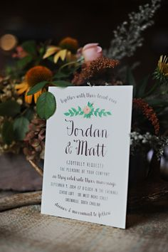 wedding invite, photo by Kimberly Michelle Gibson Photography http://ruffledblog.com/notwedding-greenville #weddinginvitations #stationery