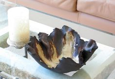 Free Form Ceramic Centerpiece Bowl Earthy by CeramicDesires, $95.00