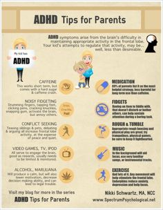 ADHD tips for parents.   Some people may find this useful