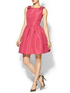 RED Valentino Faille Sleeveless Dress