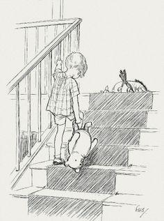 E.H. Shepard's Original Winnie the Pooh Drawings