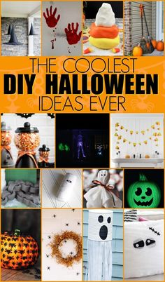 Everyone needs to craft during Halloween and with awesome DIY  Halloween Ideas like these, you'll never run out of fun things to make.  #halloween #happyhalloween #trickortreat  #halloweenparty #halloweenfun #crafts #craftideas #DIY #halloweenDIY #halloweencraft  #projects #diycrafts #diyprojects #fundiys  #funprojects #diyideas #craftprojects #diyprojectidea