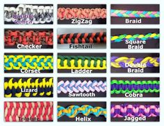paracord+weaves | Custom made paracord items.