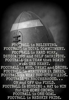 FOOTBALL is . . .