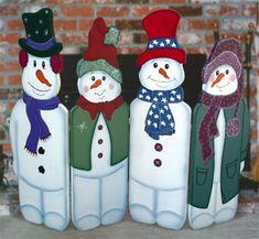 fire place, wood patterns, snowmen wood, woodcraft pattern, fair idea, display, craft fair, christma craft, fold snowmen
