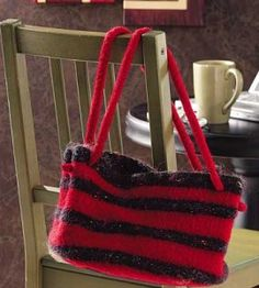 Knit Felted Handbag Craft | Knitting Crafts | Winter Crafts — Country Woman Magazine