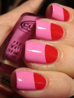 Fresh Ideas for Your Next Mani - Trade in your typical French tip for a new nail design.