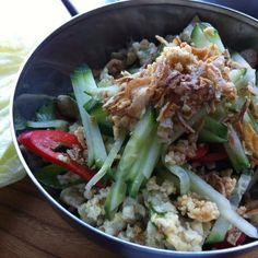 Thai Chicken San Choy Bao Recipe by Audra Morrice #masterchef #australia