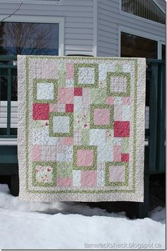 Pink - perfect ten pattern quilt