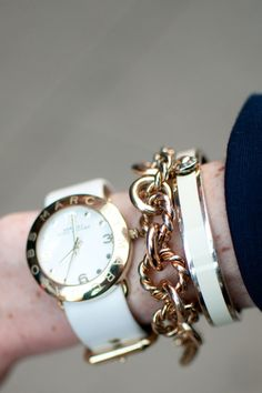 marc jacobs watch and jcrew factory bracelet