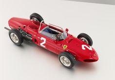 CMC Model Cars diecast model Ferrari 156 Sharknose Monza F1 World Champion $314