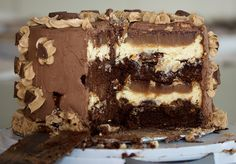 The Peanut Butter Cup All-In-One Cake