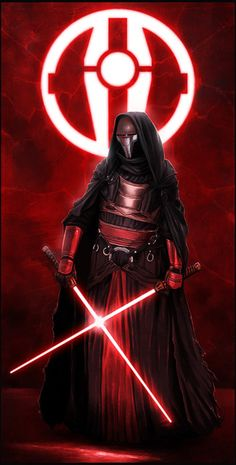 Sith Lord Revan. The (wo)man brought back from the darkness and replaced with the light. Maybe.