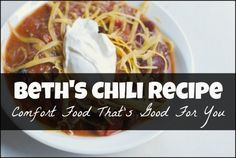 """In search of the perfect chili recipe? Look no further! Check out the praise that this recipe recently earned: """"I was raised by a Southern woman, and needless to say, my standards when it comes to cooking and baking are HIGH. My mother's chili can't be beat! I've also tried just about every chili recipe in the book, and this is one of the most absolutely amazing recipes I've ever had the good fortune to make. This will be a regular rotation at our house for sure. Absolutely fantastic!!"""""""