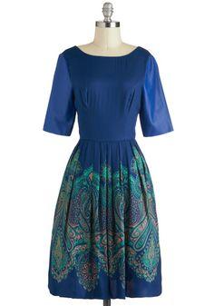 Tracy Reese Cobalt of Genius Dress, #ModCloth