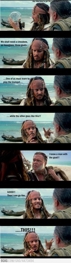 Jack Sparrow!