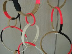 thread wound hoops