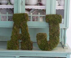 Moss monograms -diy