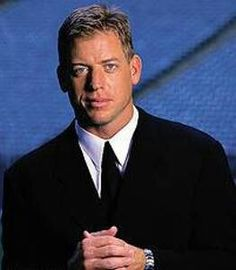 Troy Aikman My first football crush. A girl never forgets...