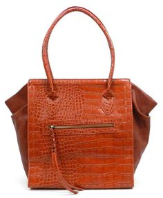 Fabulous orange hand-bag., www.LadiesStylish.com ... Lol. #ElegantBags
