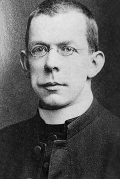 "Father Thomas Byles wrote to his housekeeper: ""I will write as soon as I get to New York."" But he never did - he perished comforting passengers as the great Ship sank. #Titanic"