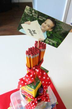craft, schools, cakes, school supplies, teacher gift, teacher school, gift idea, teachers, suppli cake