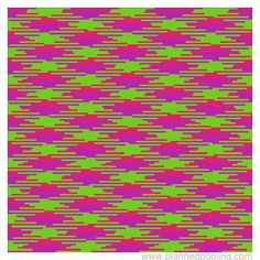 """Intentional pooling """"calculator.""""  Enter how many stitches each color takes up and this will show you roughly what the pooling will look like.  So curious about whether it actually works!"""