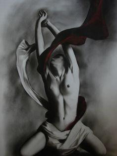 Nude Art Oil Painting portrait