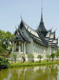 Ayutthaya Throne Hall, Bangkok,Thailand