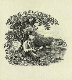 artists, ex libris, book art, librari, bookplat art, libri vintag, art sake, vintag bookplat, picnic baskets