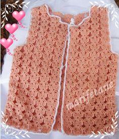 Yeni Tasarım Tığ İşi Yelek & Crochet Vest  resimlerin devamı burada:  http://www.marifetane.com/2014/09/yeni-tasarm-tg-isi-yelek-crochet-vest.html