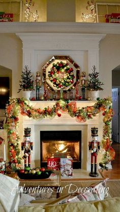 2013 Christmas Mantel :: Hometalk
