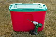 Love it.   How To Make an Easy DIY Compost Bin     Blissfully DomesticBlissfully Domestic