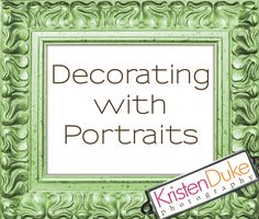 decorating with portraits