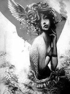 Noir Series by Sit Haiiro #illustration #noir #art